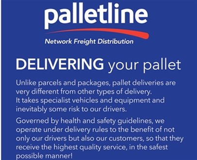 Delivering Your Pallet